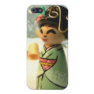 桜のミントI iPhone SE/5/5sケース