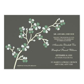 桜のモダンな結婚式招待状:: 賢人 カード