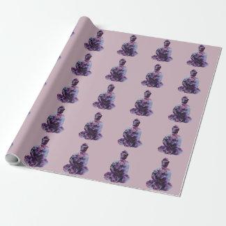 桜の仏の包装紙 ラッピングペーパー