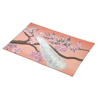 桜の孔雀 ランチョンマット