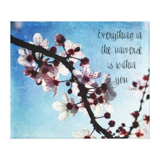 桜の宇宙Rumi キャンバスプリント
