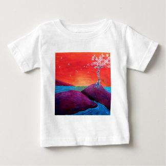 桜の日没 ベビーTシャツ