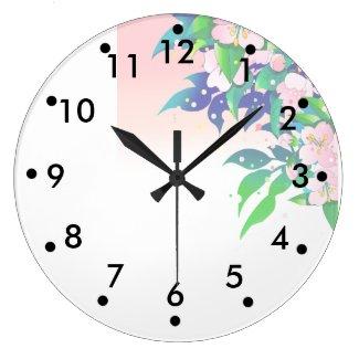 桜の時計 LARGE CLOCK