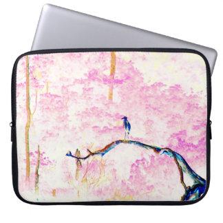 桜の景色 ラップトップスリーブ