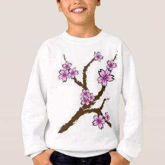 桜の枝 スウェットシャツ
