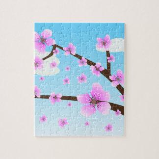 桜の桜のパズル ジグソーパズル