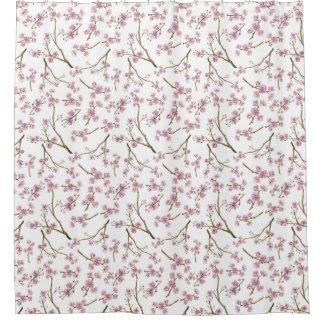 桜の桜のプリント シャワーカーテン