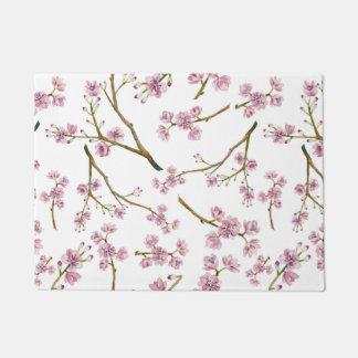 桜の桜のプリント ドアマット