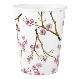 桜の桜のプリント 紙コップ