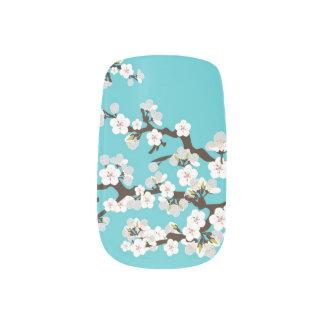 桜の桜のMinxの水) ネイルアート