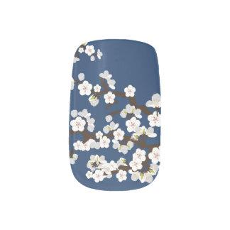 桜の桜のMinxの濃紺) ネイルアート