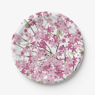 桜の紙皿 ペーパープレート