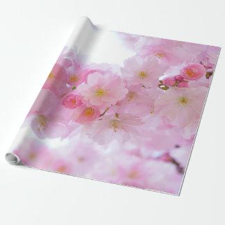 桜の花アジア ラッピングペーパー