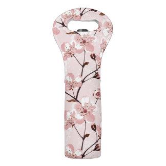 桜の花模様 ワイントート