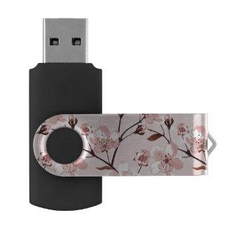 桜の花模様 USBフラッシュドライブ