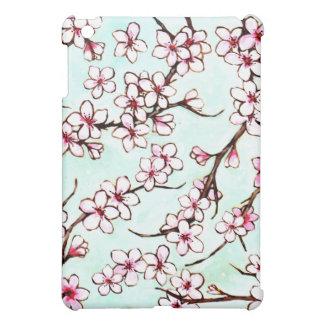 桜の花盛りの木のiPadの場合 iPad Miniカバー