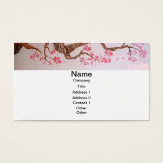 桜の芸術 名刺