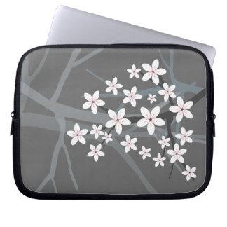 桜の袖の箱 ラップトップスリーブ