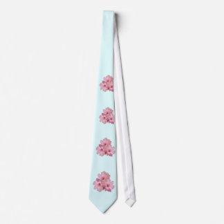 桜の首の衣服 カスタムネクタイ