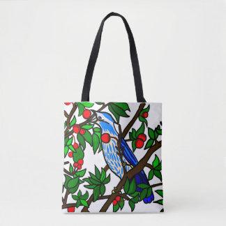 桜の鳥 トートバッグ