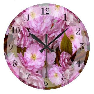 桜の    ~の時計 ラージ壁時計