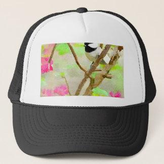桜の《鳥》アメリカゴガラ キャップ