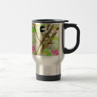 桜の《鳥》アメリカゴガラ トラベルマグ