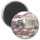 桜のWashington D.C. マグネット