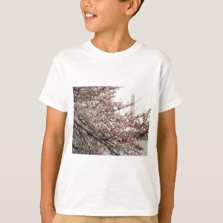 桜のWashington D.C. Tシャツ
