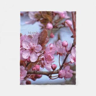桜アジア フリースブランケット