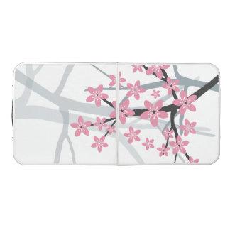 桜東洋の花のモダンなパターンデザイン ビアポンテーブル