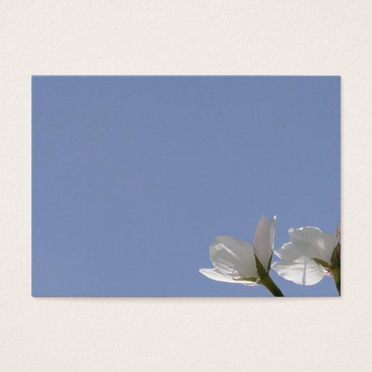 桜開花の名刺 名刺
