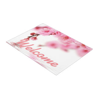 桜3 ドアマット