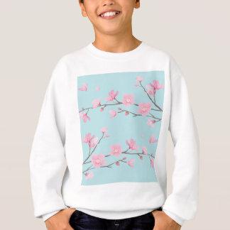 桜-スカイブルー スウェットシャツ