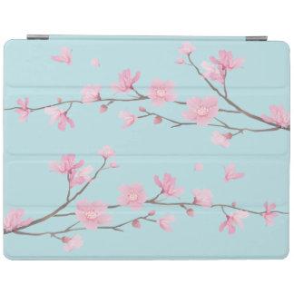 桜-スカイブルー iPadスマートカバー