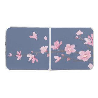 桜-デニムの青 ビアポンテーブル