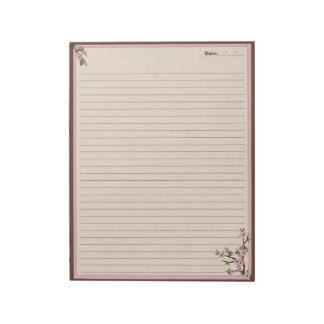 桜 ノートパッド