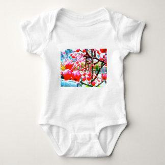 桜 ベビーボディスーツ