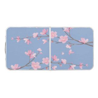 桜-平静の青 ビアポンテーブル
