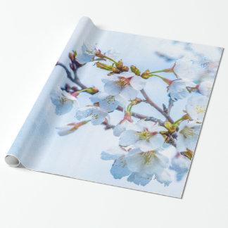 桜-日本のな桜 ラッピングペーパー