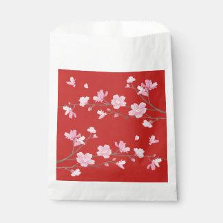 桜-赤 フェイバーバッグ