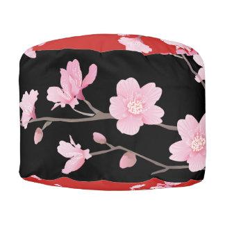 桜-赤 プーフ