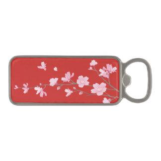 桜-赤 マグネット栓抜き