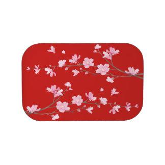 桜-赤 ランチボックス