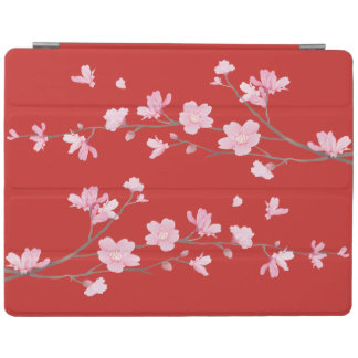桜-赤 iPadスマートカバー
