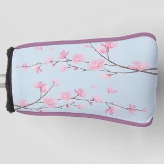 桜-透明な背景 ゴルフヘッドカバー