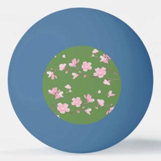 桜-透明な背景 卓球ボール
