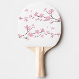 桜-透明な背景 卓球ラケット