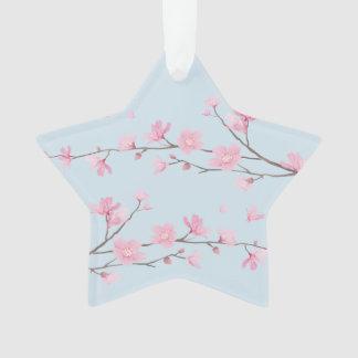 桜-透明な-ハッピーバースデー オーナメント