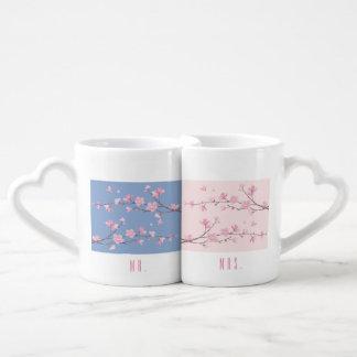 桜-透明な-結婚式 ペアカップ